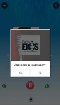Radio Ekos Fm screenshot 1