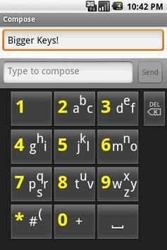 SlideType Keyboard screenshot 1