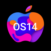 OS14 Launcher, Control Center, App Library i OS14 v2.4 (Prime) (Unlocked) (16.2 MB)