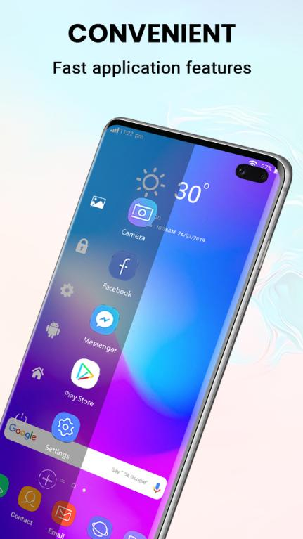 S10 Launcher - Theme, Wallpaper for Galaxy S10 for Android - APK