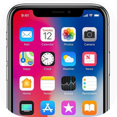 Phone 12 Launcher, OS 14 Launcher, Control Center icono