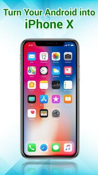 Phone X Launcher, OS 12 iLauncher & Control Center poster