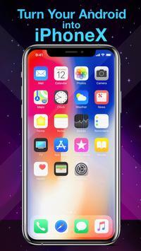 Phone X Launcher, OS 12 iLauncher & Control Center पोस्टर
