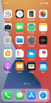 Phone 12 Launcher, OS 14 Launcher, Control Center Poster