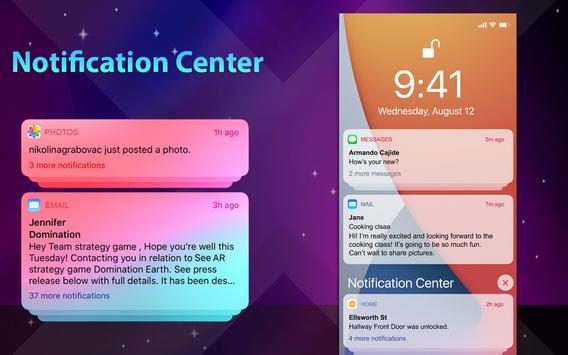 Phone 12 Launcher, OS 14 Launcher, Control Center captura de pantalla 16