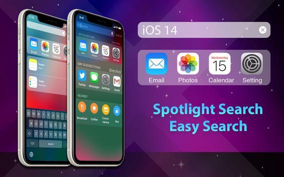 Phone 12 Launcher, OS 14 iLauncher, Control Center captura de pantalla 18