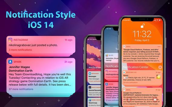 Phone 12 Launcher, OS 14 iLauncher, Control Center captura de pantalla 10