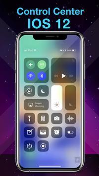 Phone X Launcher, OS 12 iLauncher & Control Center स्क्रीनशॉट 1