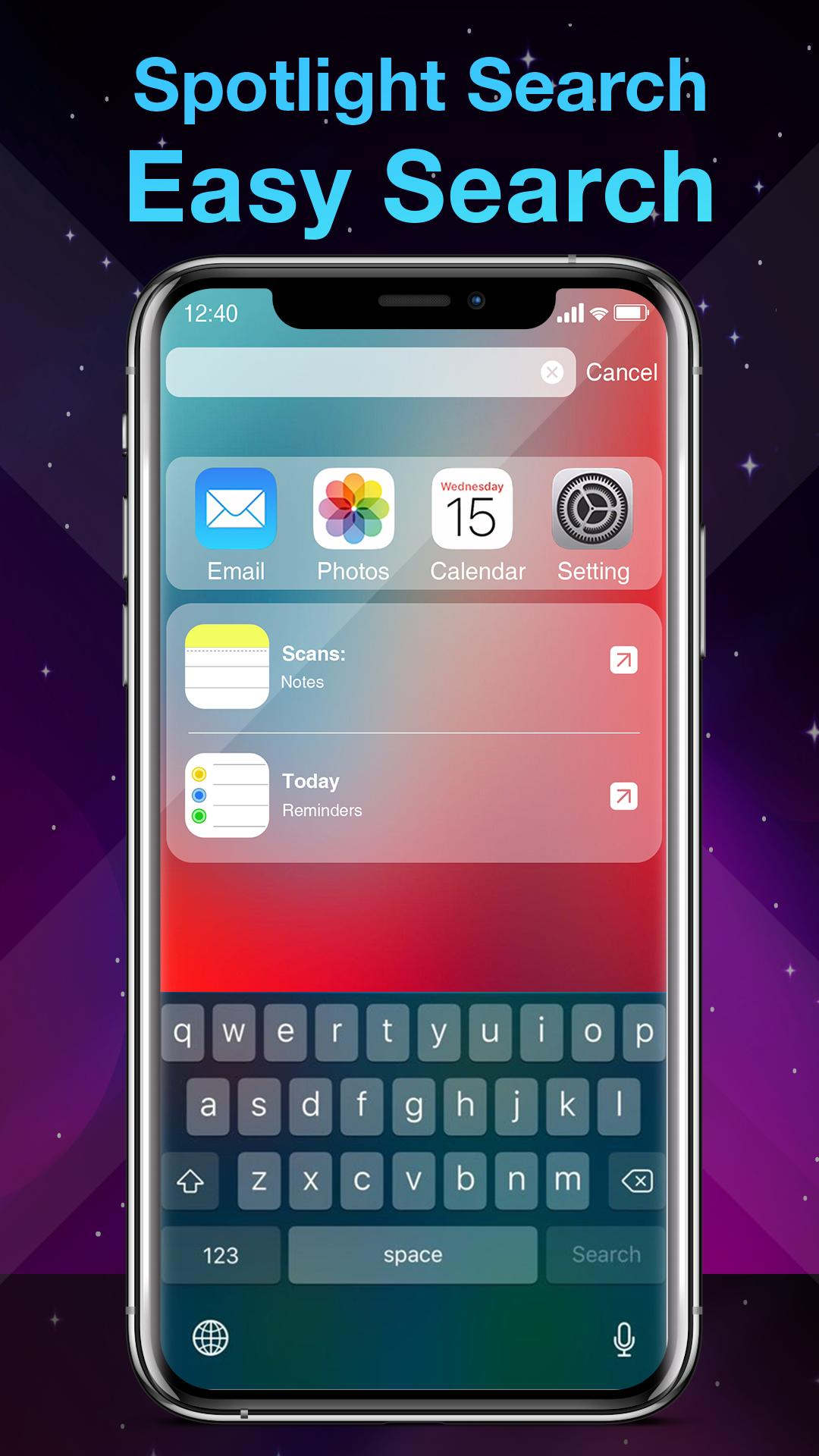 Phone X Launcher, OS 12 iLauncher & Control Center for Android - APK