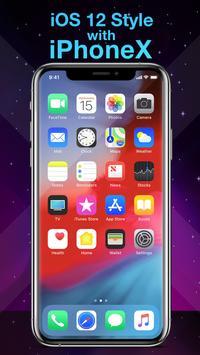 Phone X Launcher, OS 12 iLauncher & Control Center स्क्रीनशॉट 4