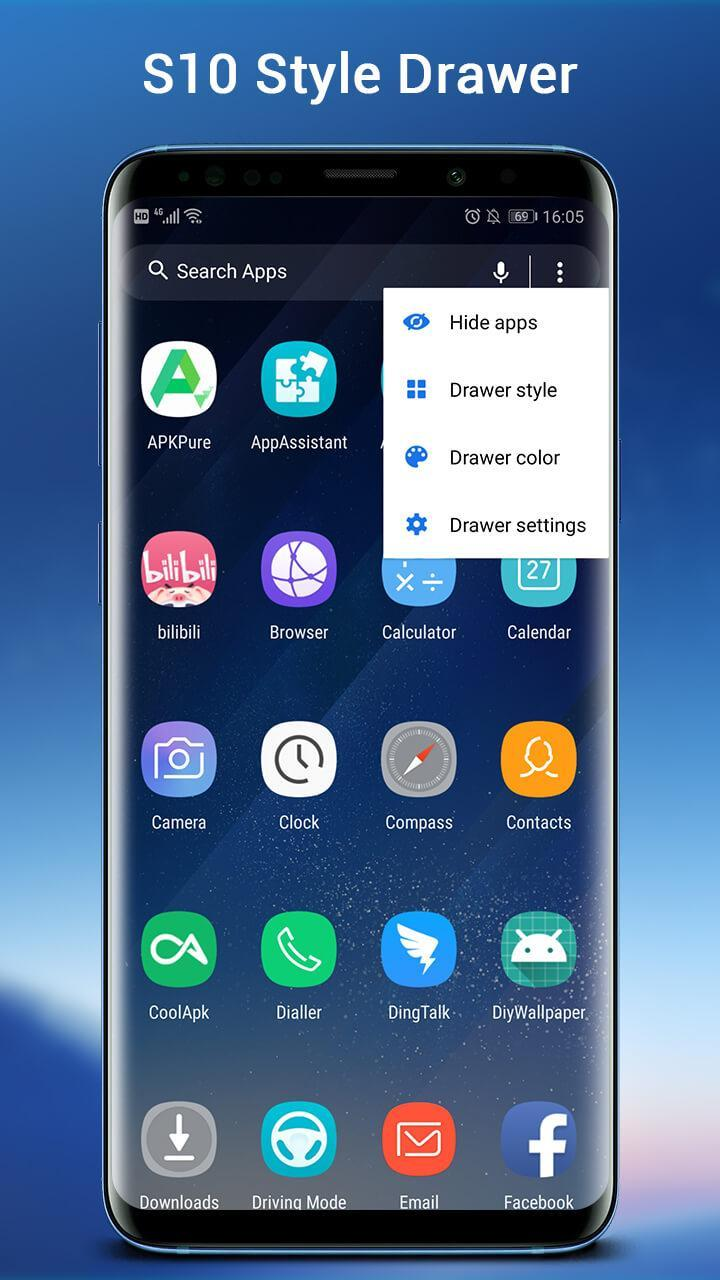 SO S10 Launcher for Galaxy S, S10/S9/S8 Theme for Android - APK Download
