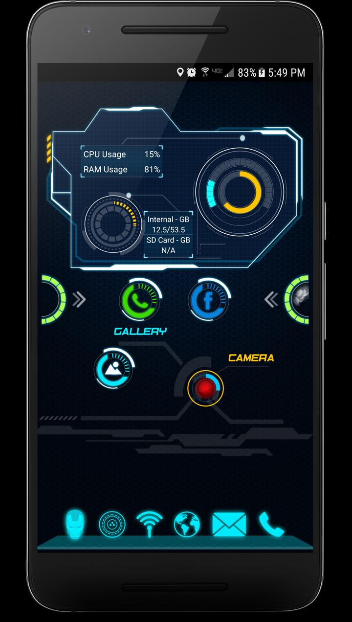 Jarvis Arc Launcher - Beta for Android - APK Download