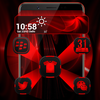 Icona Dark Red Launcher Theme