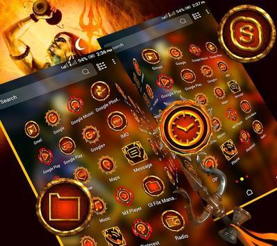 Lord Shiva Launcher Theme screenshot 3