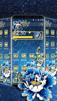 Luxury Flower Theme poster