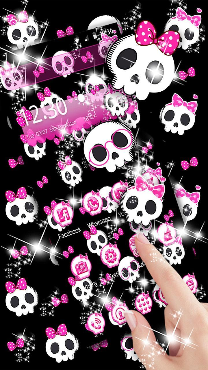 Cute Skull Theme For Android APK Download
