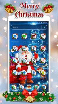 Cute Santa Christmas Theme screenshot 1