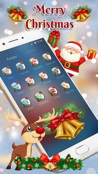 Cute Santa Christmas Theme screenshot 3