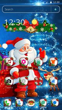 Cute Santa Christmas Theme screenshot 4