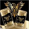 Gold Luxury Eagle Theme icono