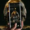 Liquid Gold Black Skull Business Theme アイコン