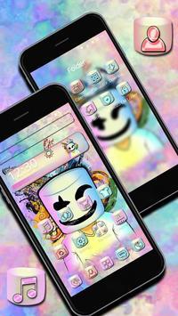 Electronic Music DJ Mellow Theme screenshot 1