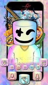 Electronic Music DJ Mellow Theme screenshot 2