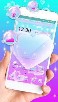 Love Heart Bubble Theme poster