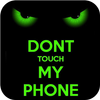 Green Dont Touch My Phone Theme ícone