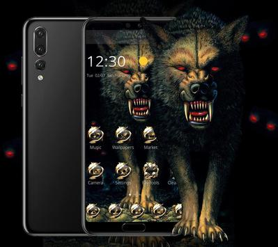Dark Bloody Vivid Wolf Theme For Android Apk Download