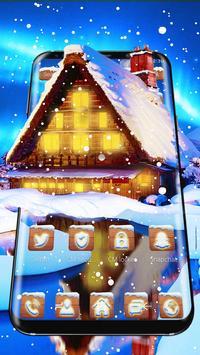 Winter Old Cottage Theme screenshot 1
