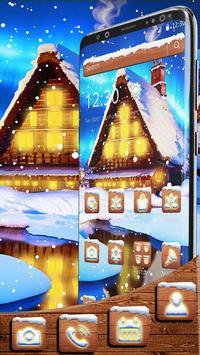 Winter Old Cottage Theme screenshot 2