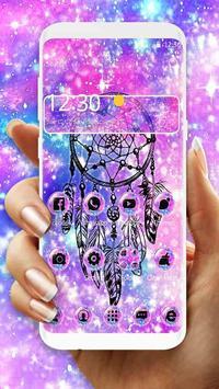 Dream Catcher Galaxy Theme poster