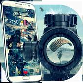 Rain Battleground for players theme on Mobile icon