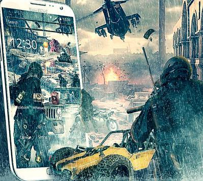 Rain Battleground for players theme on Mobile screenshot 1