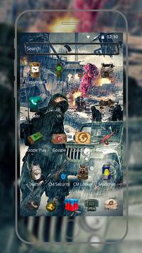 Rain Battleground for players theme on Mobile screenshot 4