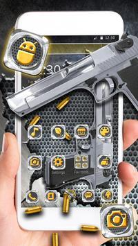 Cool Gun Bullet Launcher Theme poster