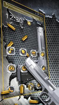 Cool Gun Bullet Launcher Theme screenshot 2