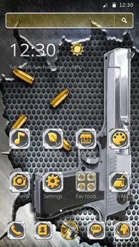 Cool Gun Bullet Launcher Theme screenshot 3