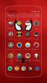 Spider man Theme Cartoon theme screenshot 1