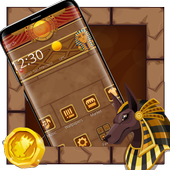 Egyptian Treasure Launcher Theme icon