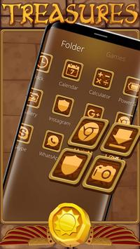 Egyptian Treasure Launcher Theme screenshot 2