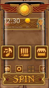 Egyptian Treasure Launcher Theme screenshot 4