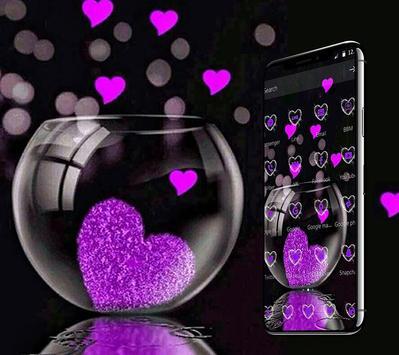 Pink Love Heart Theme screenshot 2