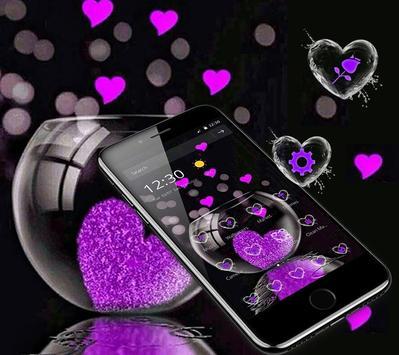 Pink Love Heart Theme screenshot 3
