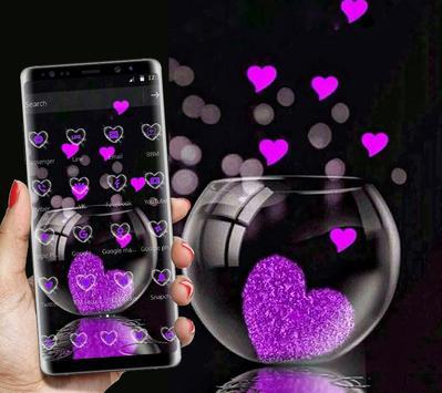 Pink Love Heart Theme screenshot 4