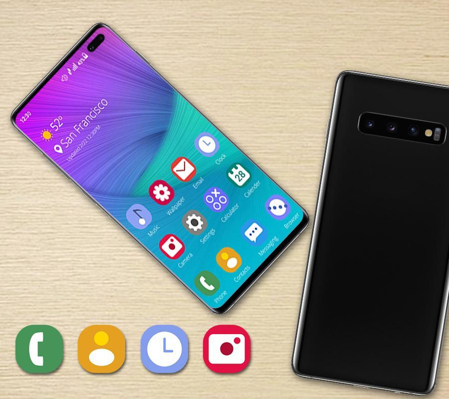 Launcher Theme For Galaxy S10 Plus📱 for Android - APK Download