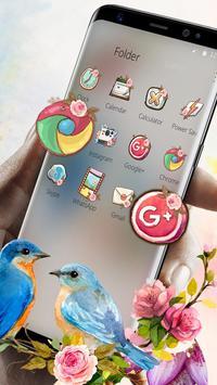catchy sweet love birds Launcher Theme screenshot 6