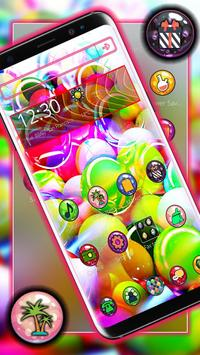 Glassy Colorful Bubble Theme screenshot 2