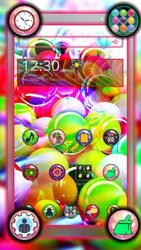 Glassy Colorful Bubble Theme screenshot 3